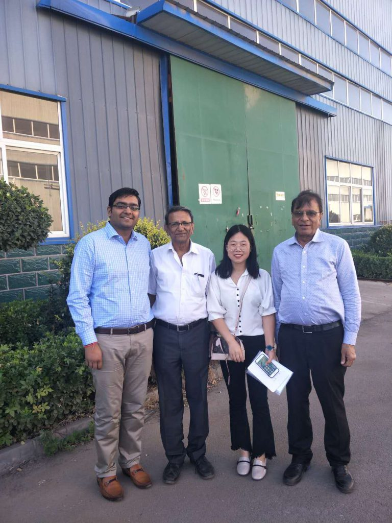 Customers to visit our company's factory(Sept.2018)