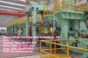 Brief description of of 450 Semi-continuous hot rolling steel strip production line process flow