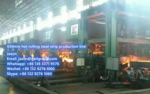 For sale: 650mm hot rollling steel strip production line