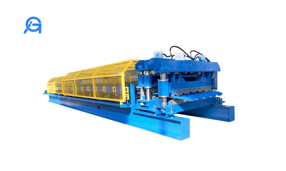 Glazed title roll forming machine