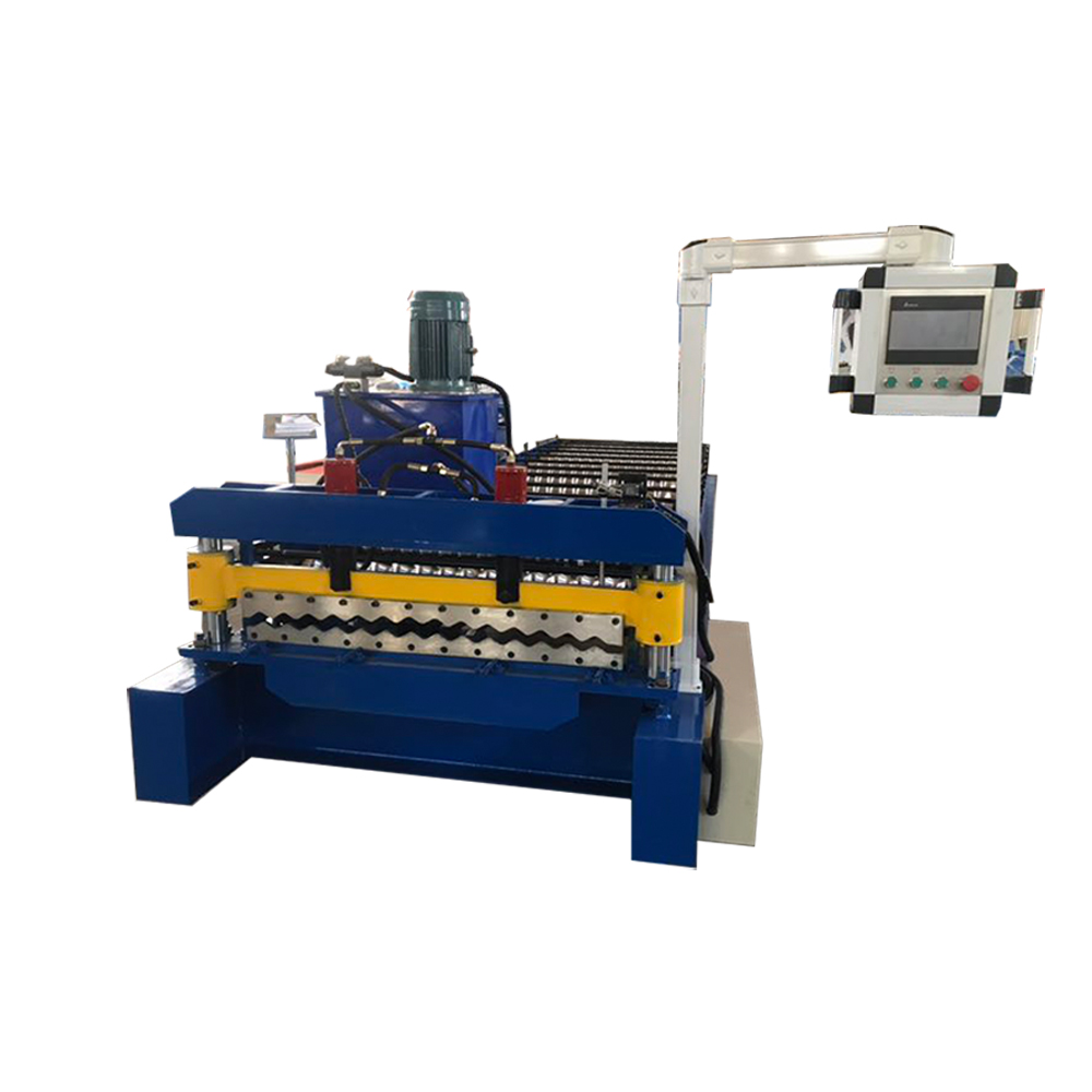 Roof Tile Sheet Making Machine Corrugated Roll Forming Machine