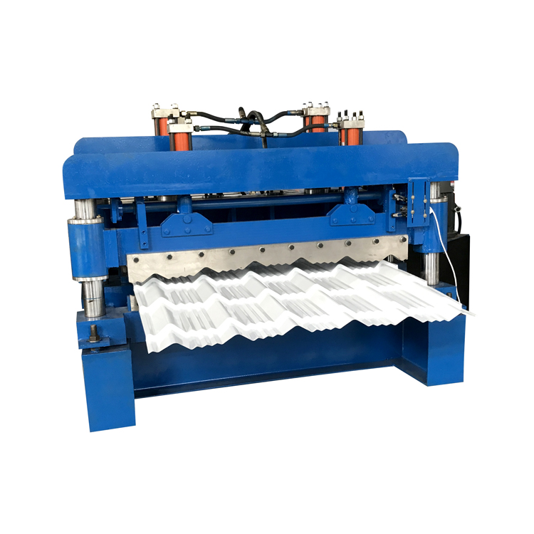 Dimensional Glazed Roof Tile Roll Forming Machine