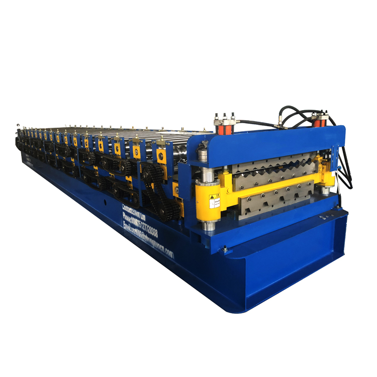 thicker material and color steel double layer roll forming machine