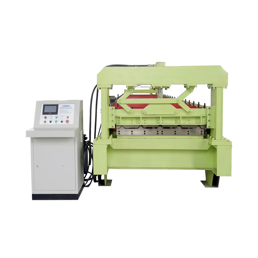 Economic And Top Quality Trapezoidal Tile Roll Forming Machine